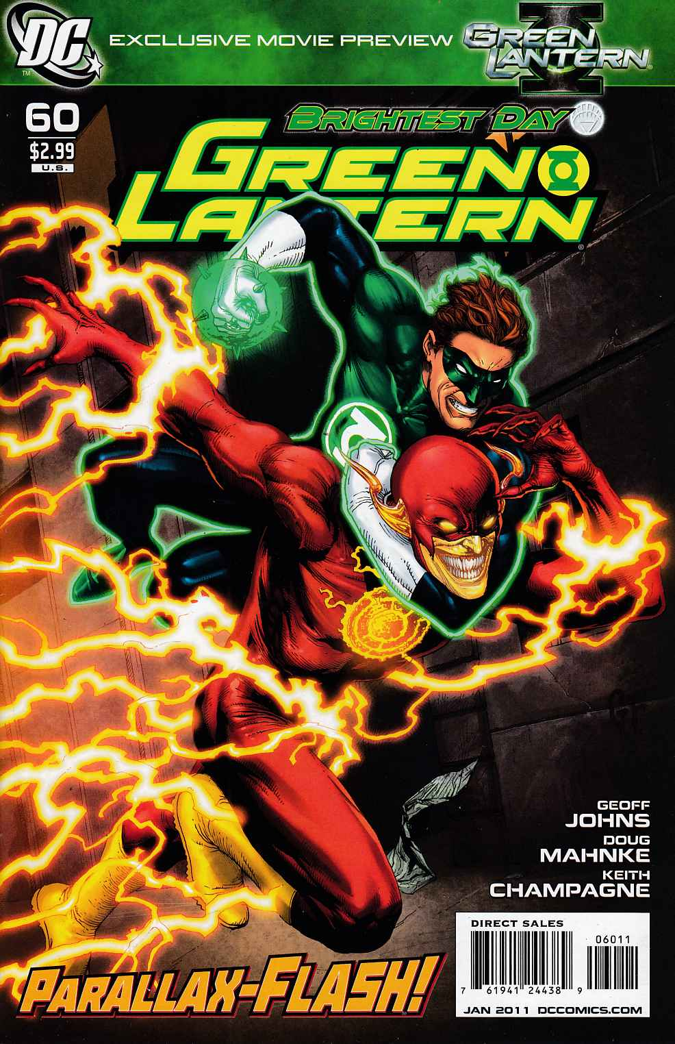Green Lantern #60 Near Mint (9.4) [DC Comic]_LARGE