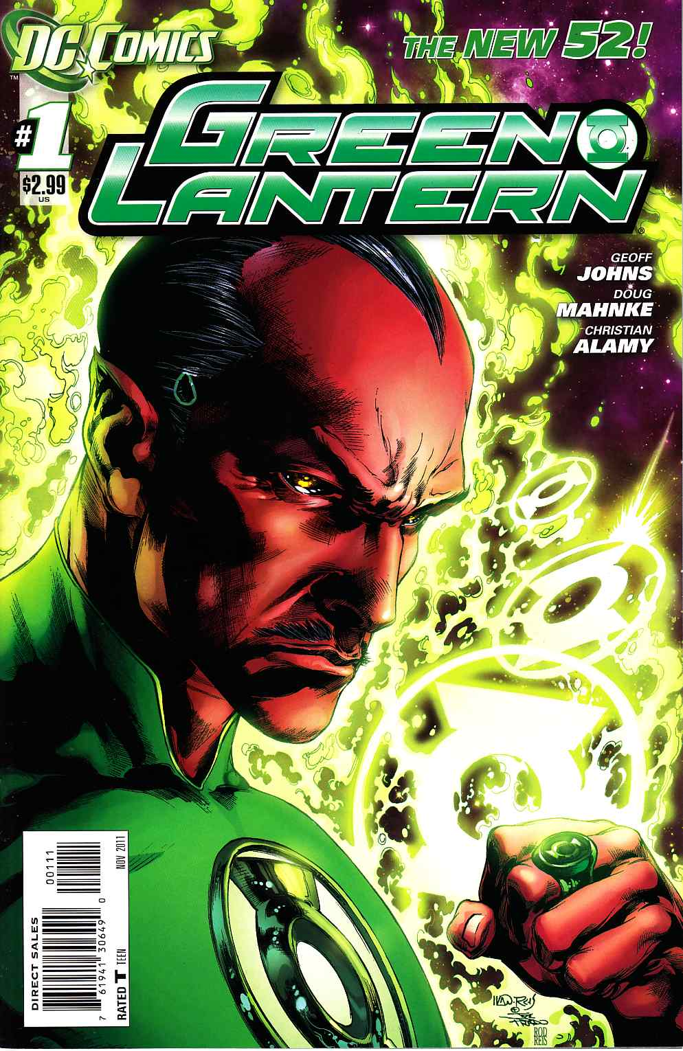 Green Lantern #1 Recalled Edition [DC Comic]_THUMBNAIL