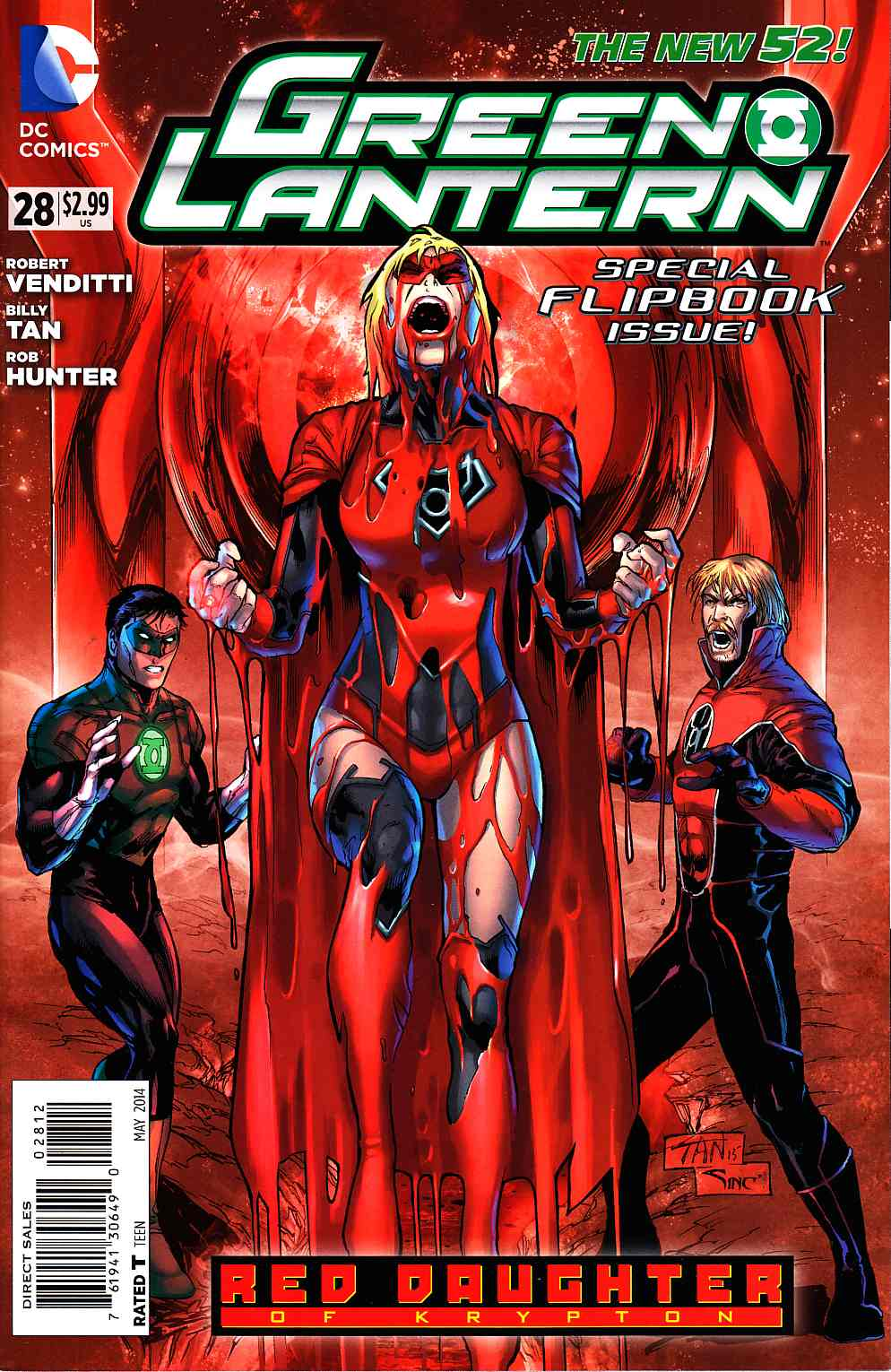 Green Lantern Red Lanterns #28 Second Printing [DC Comic] THUMBNAIL