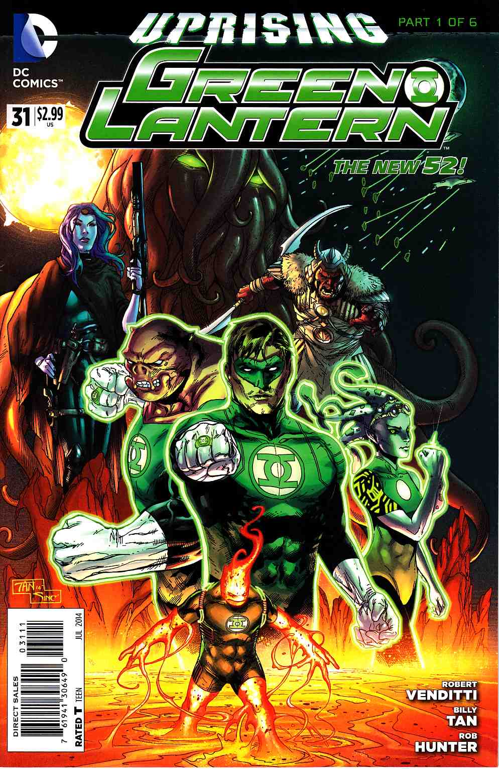 Green Lantern #31 (Uprising) [DC Comic] LARGE