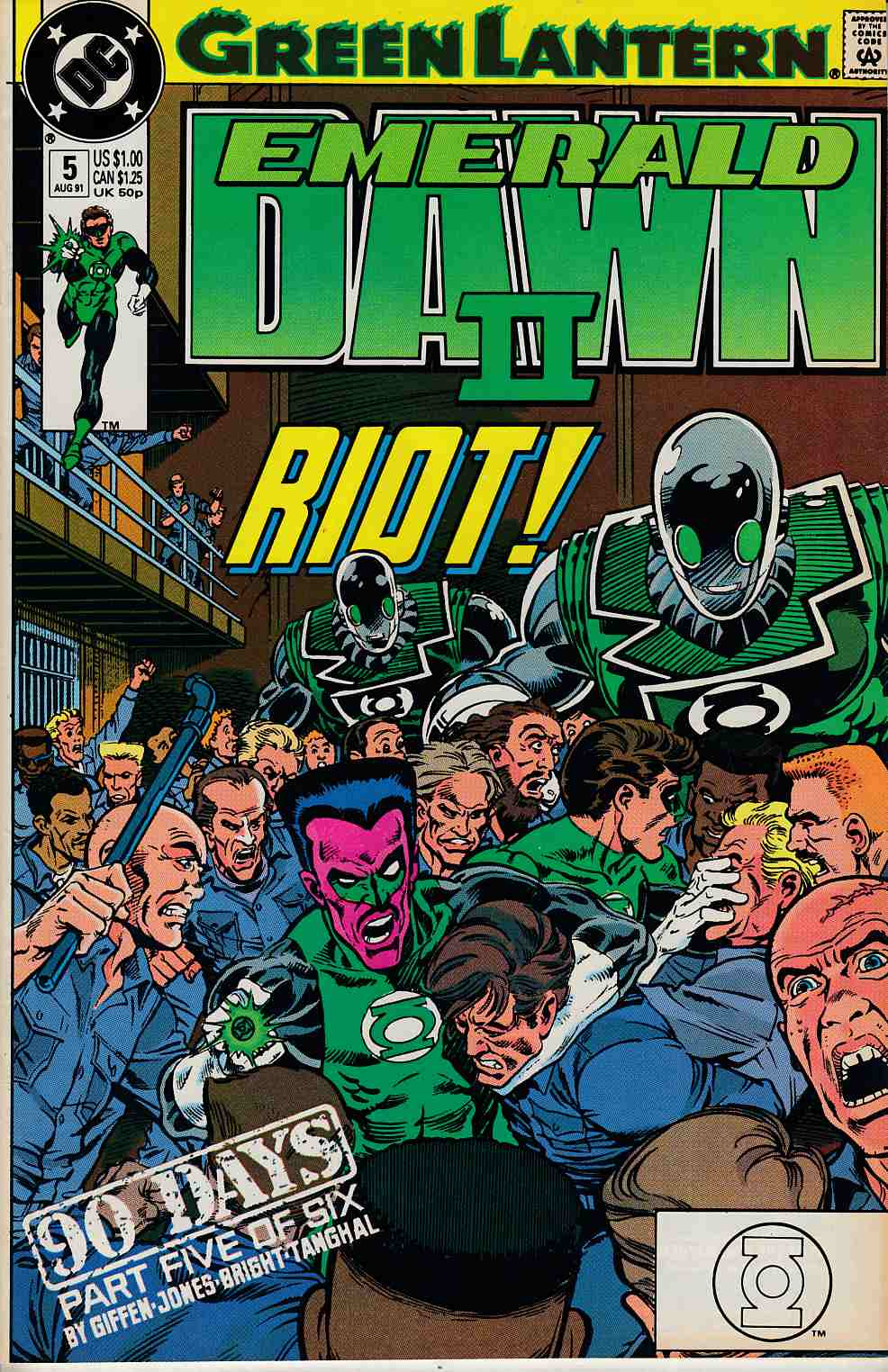 Green Lantern Emerald Dawn II #5 Near Mint (9.4) [DC Comic) LARGE