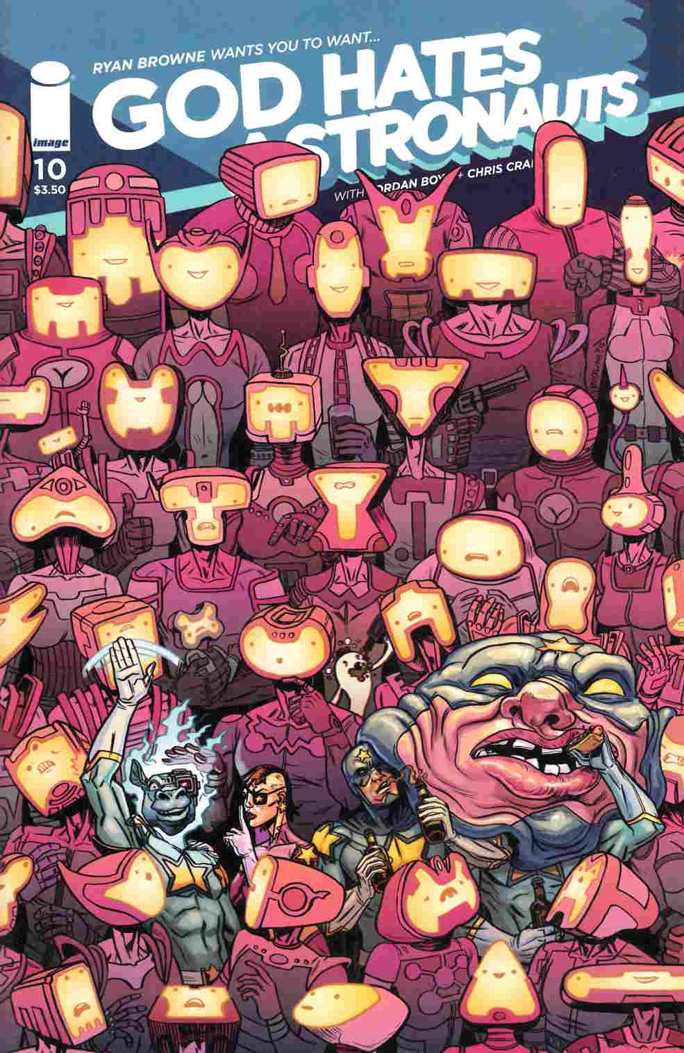God Hates Astronauts #10 Cover A- Browne [Image Comic] THUMBNAIL