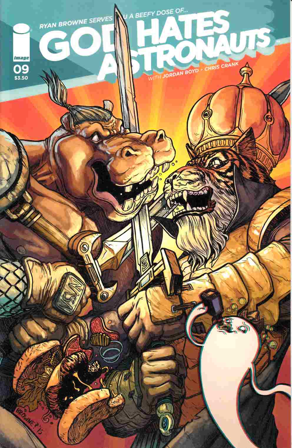 God Hates Astronauts #9 Cover A- Browne [Image Comic] THUMBNAIL