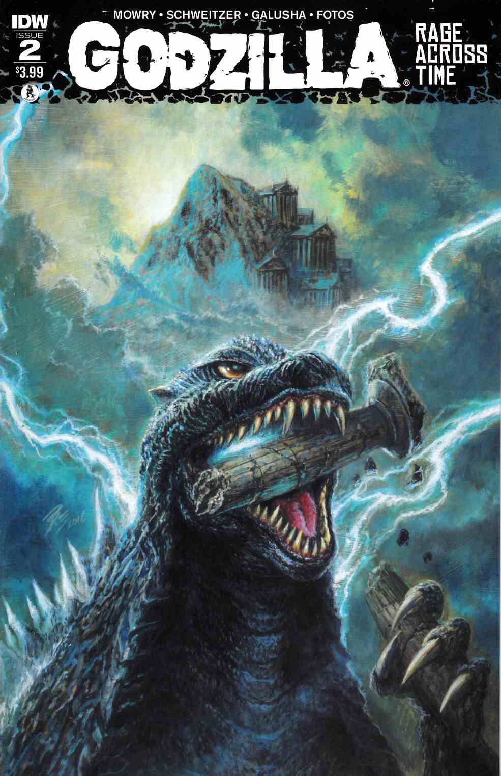 Godzilla Rage Across Time #2 [IDW Comic] THUMBNAIL