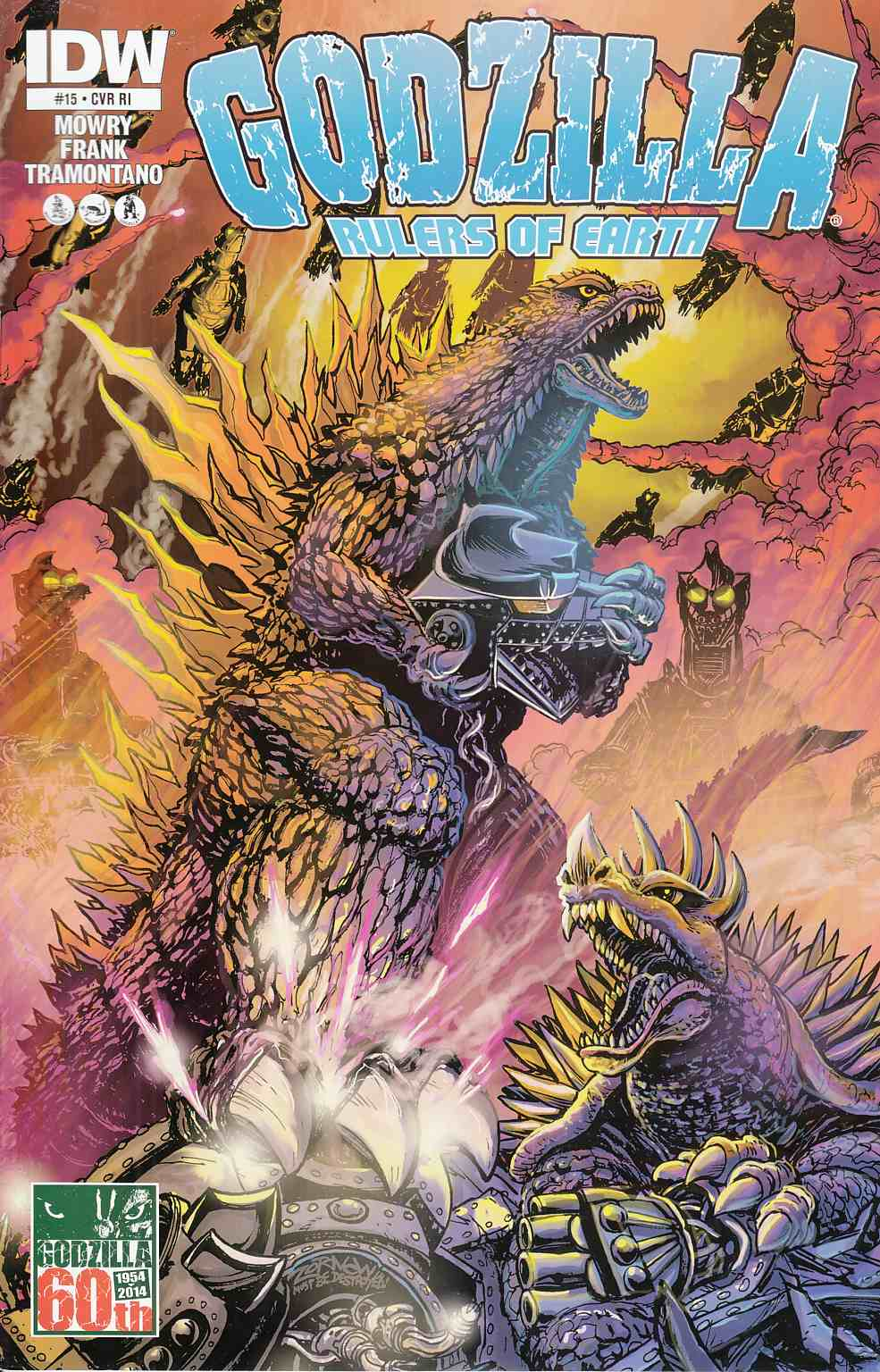 Godzilla Rulers of the Earth #15 Cover RI [Comic]