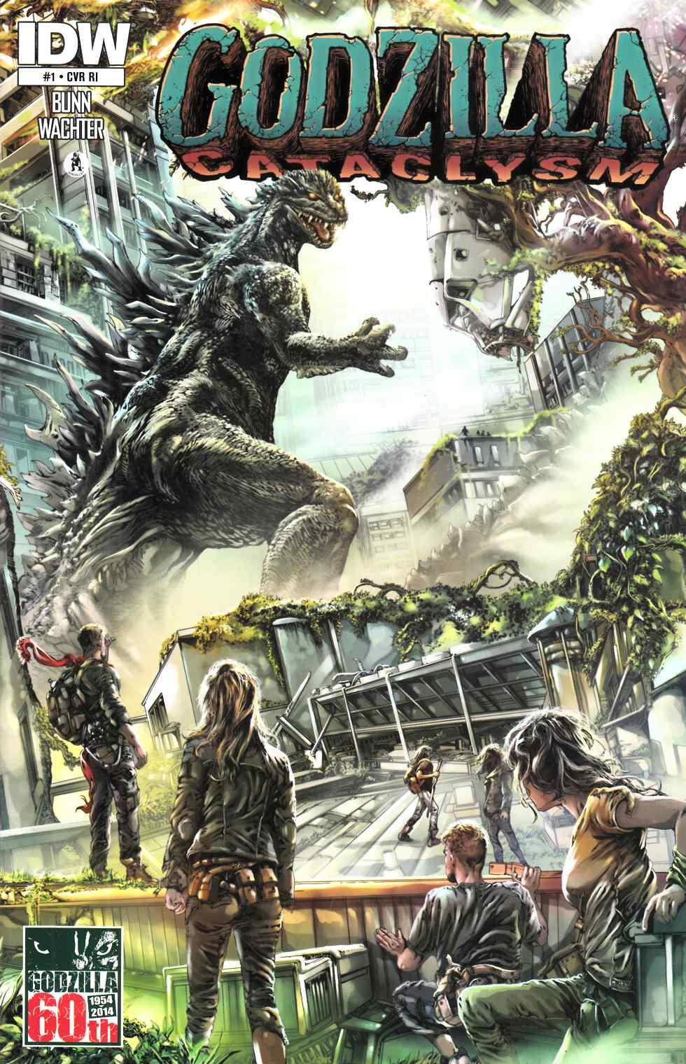 Godzilla Cataclysm #1 Cover RI [Comic] THUMBNAIL