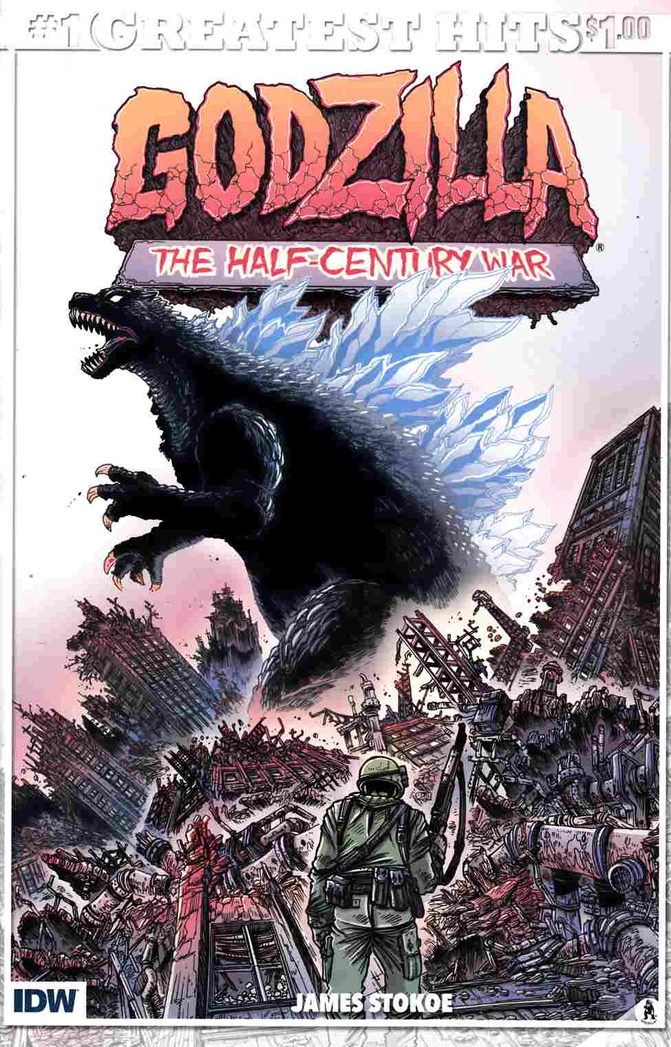 Godzilla Half Century War #1 IDW Greatest Hits Edition [IDW Comic] THUMBNAIL