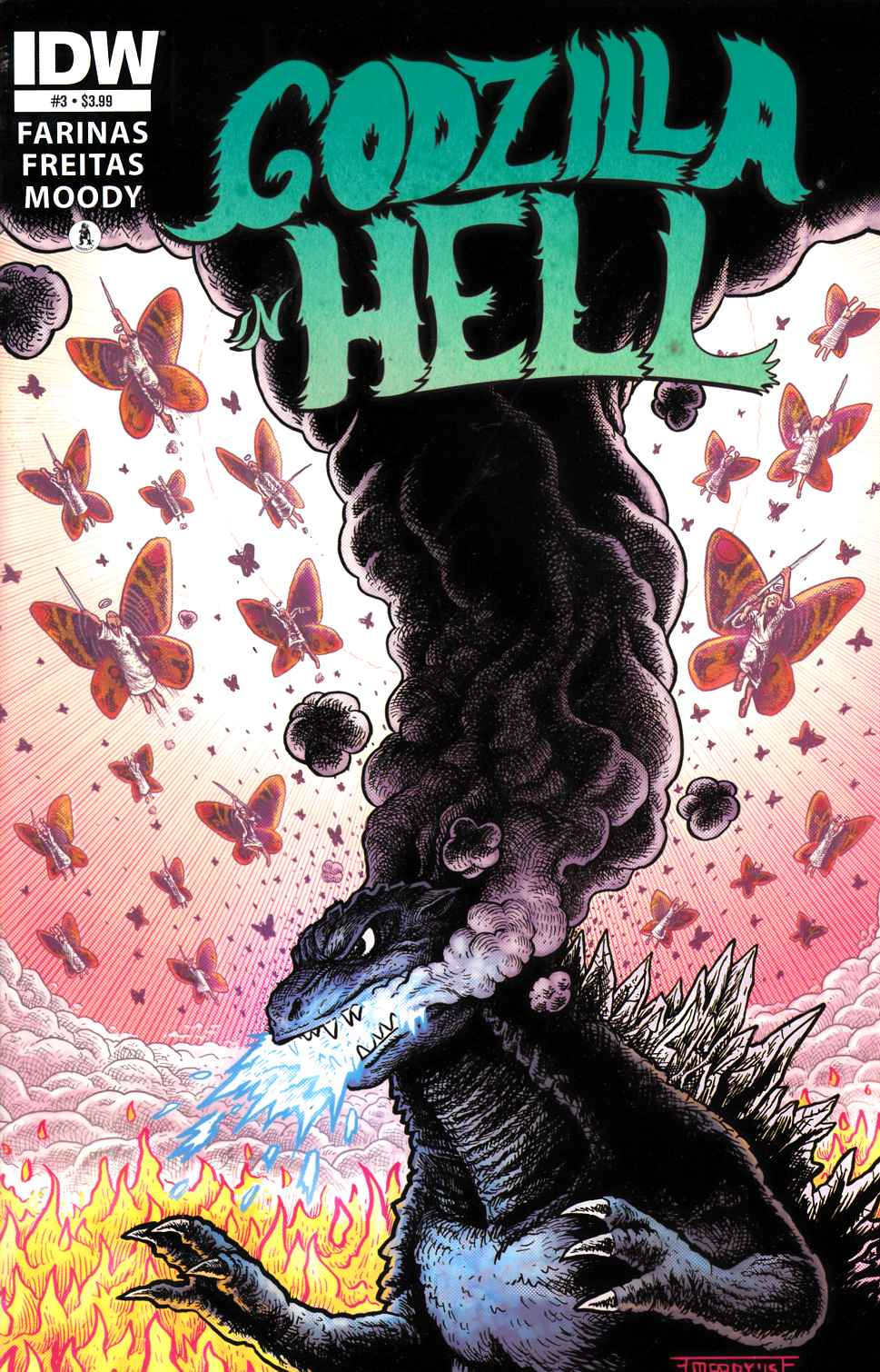Godzilla in Hell #3 [IDW Comic] THUMBNAIL