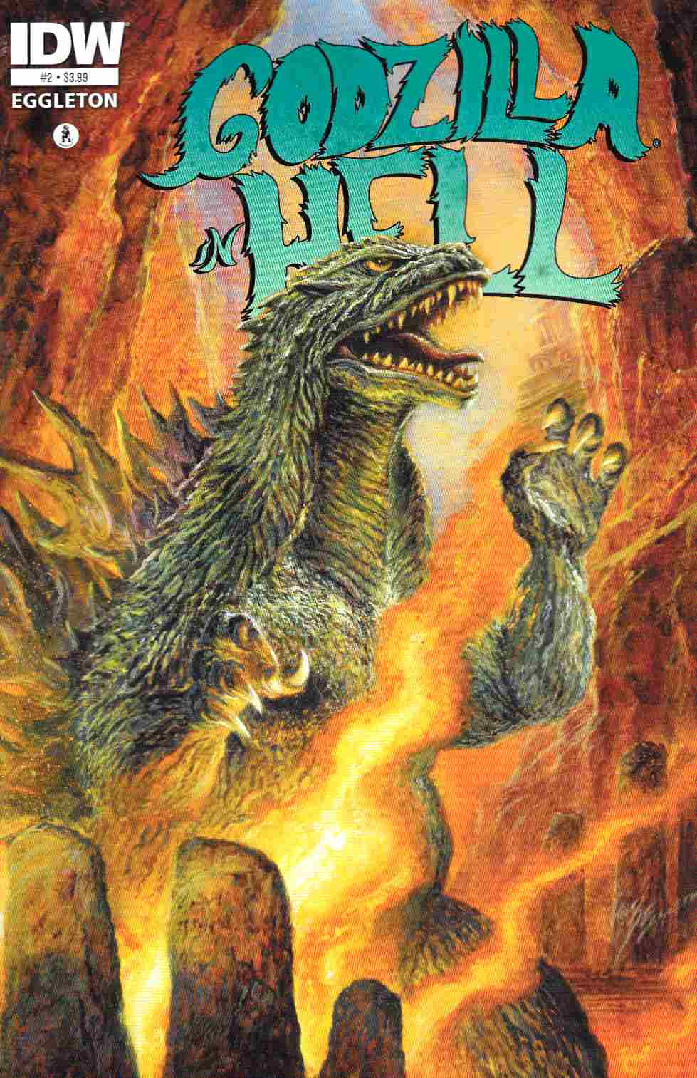 Godzilla In Hell #2 [IDW Comic] THUMBNAIL