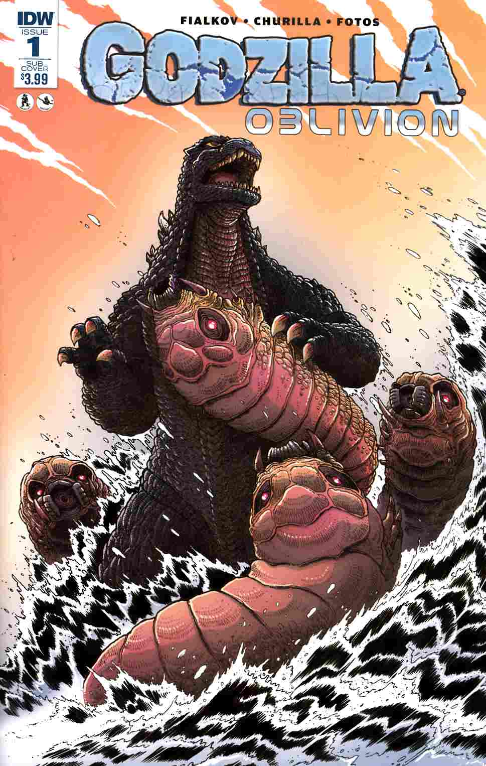 Godzilla Oblivion #1 Subscription Cover [IDW Comic] THUMBNAIL