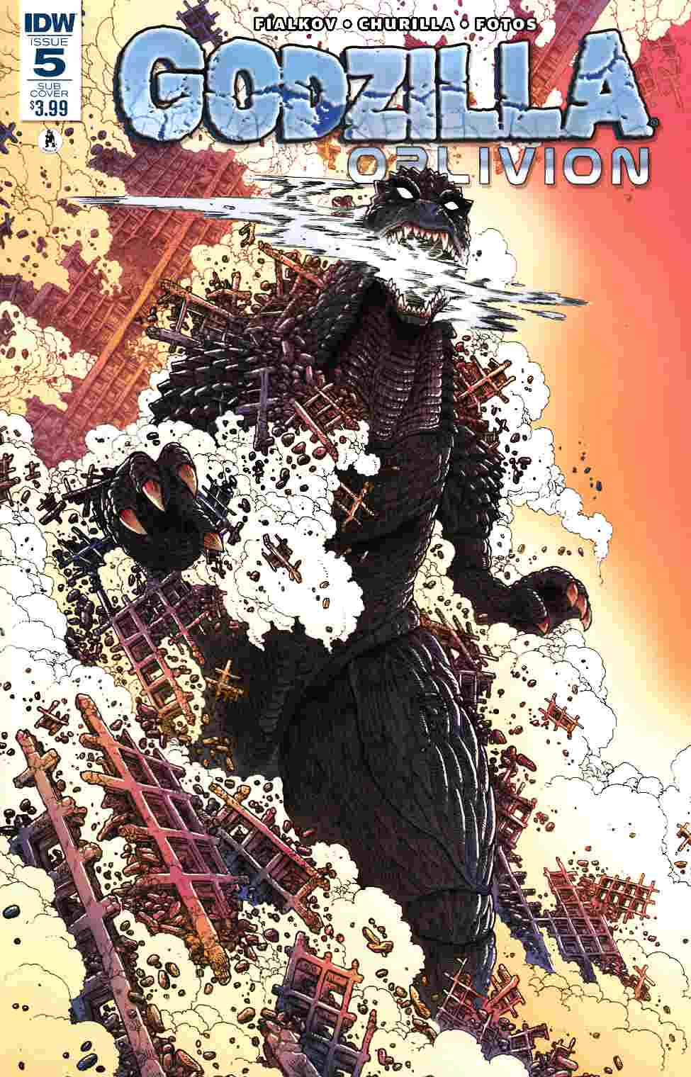 Godzilla Oblivion #5 Subscription Cover [IDW Comic] THUMBNAIL