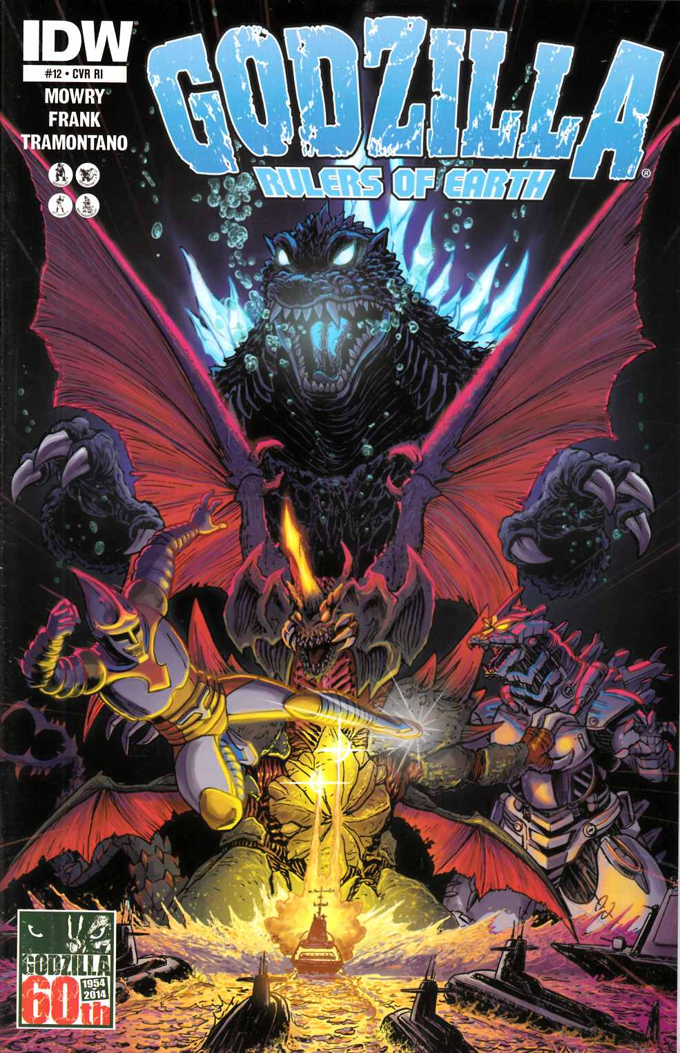 Godzilla Rulers of the Earth #12 Cover RI [Comic]