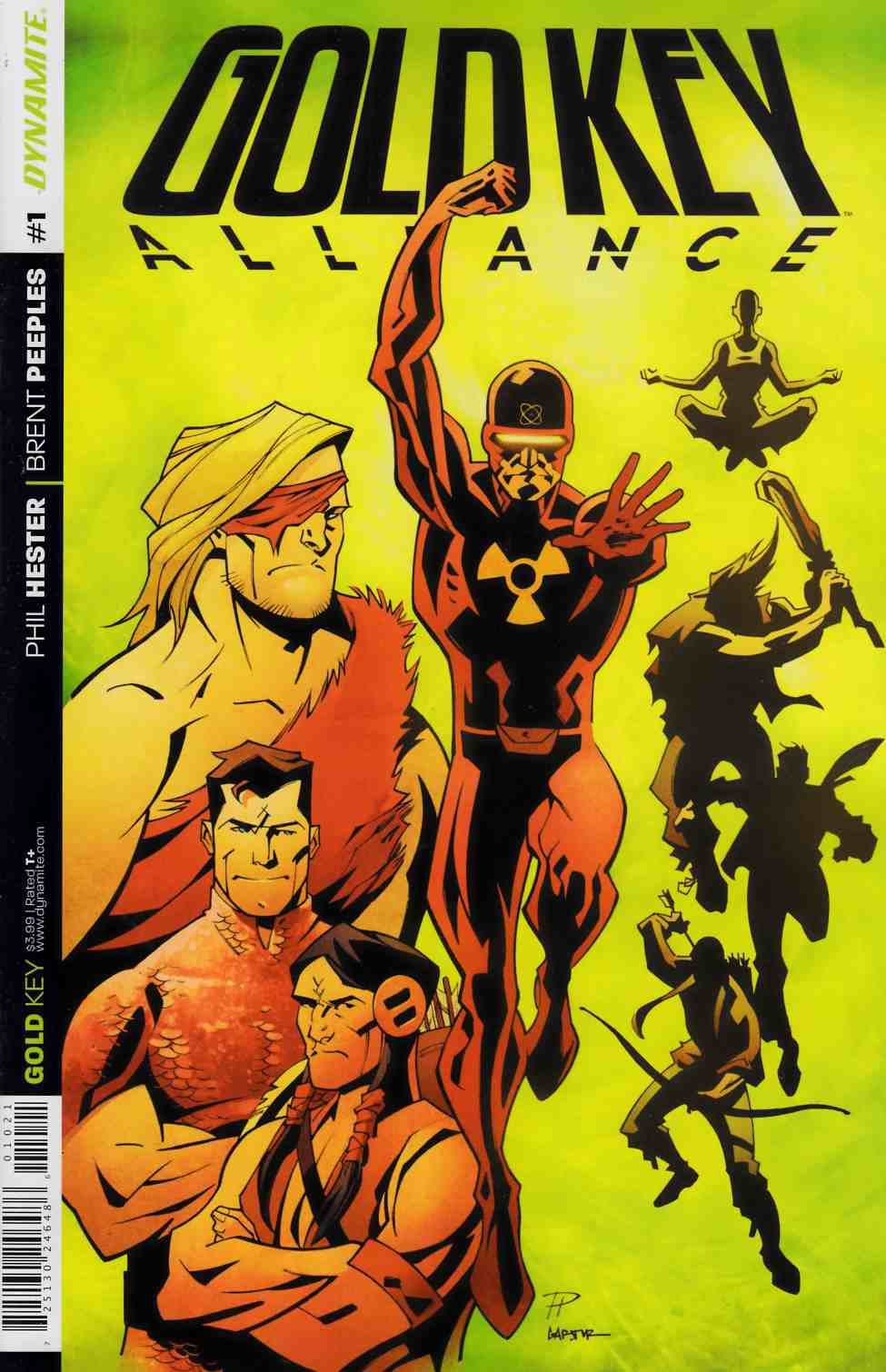 Gold Key Alliance #1 Cover B [Dynamite Comic] THUMBNAIL