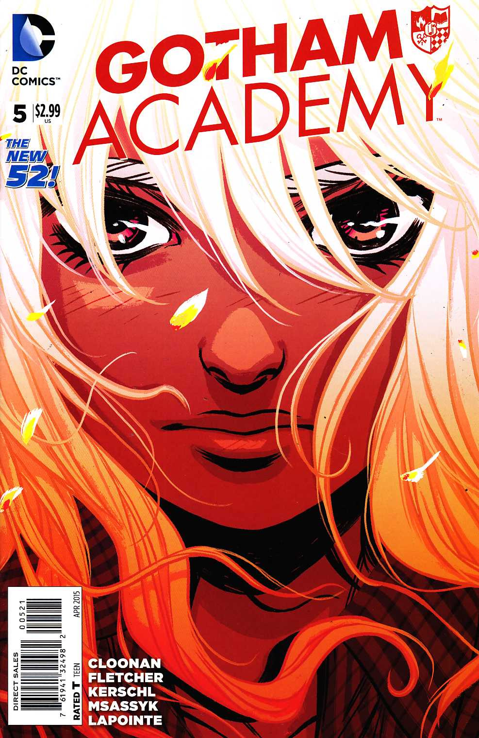Gotham Academy #5 Variant Cover [DC Comic] THUMBNAIL