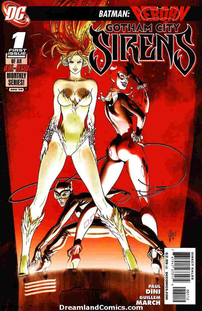 Gotham City Sirens #1 Second Printing [DC Comic]_THUMBNAIL