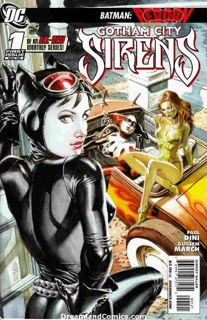 Gotham City Sirens #1 Jones Variant Cover [DC Comic]_THUMBNAIL