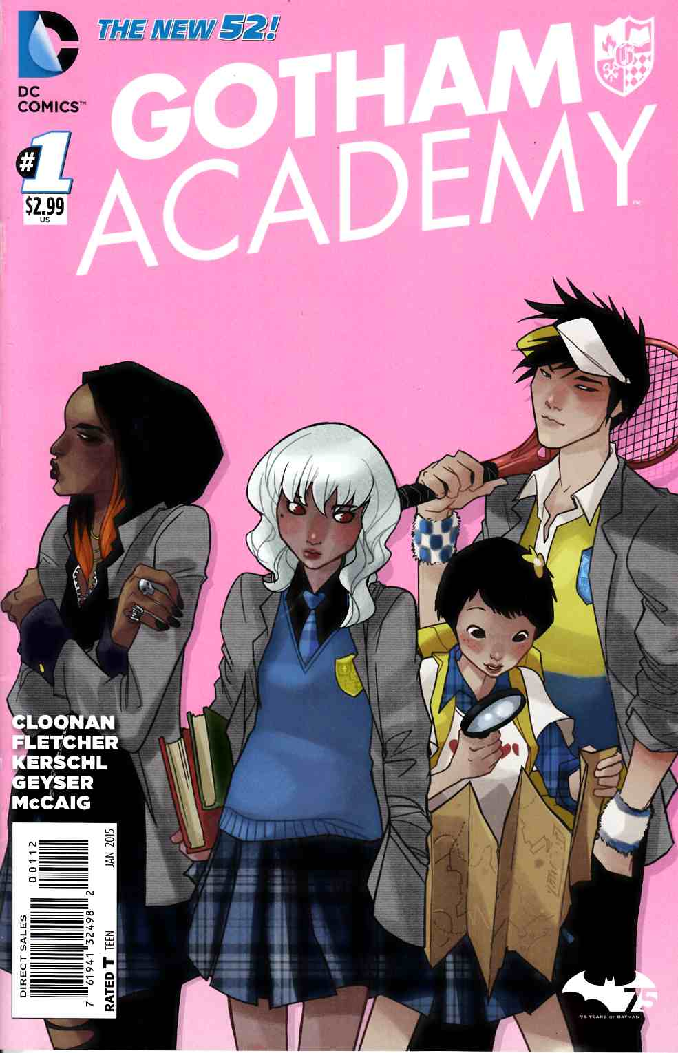 Gotham Academy #1 Second Printing [Comic] THUMBNAIL