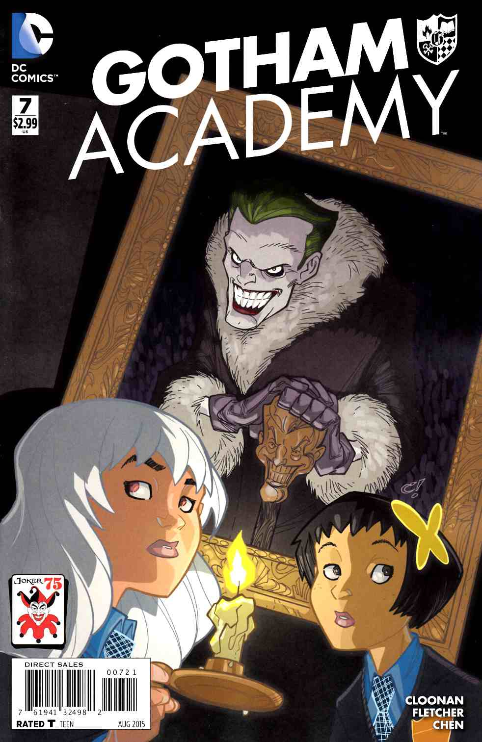 Gotham Academy #7 The Joker Variant Cover [DC Comic] LARGE