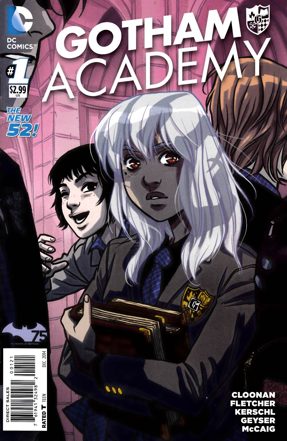 Gotham Academy #1 Cloonan Variant Cover [Comic] THUMBNAIL