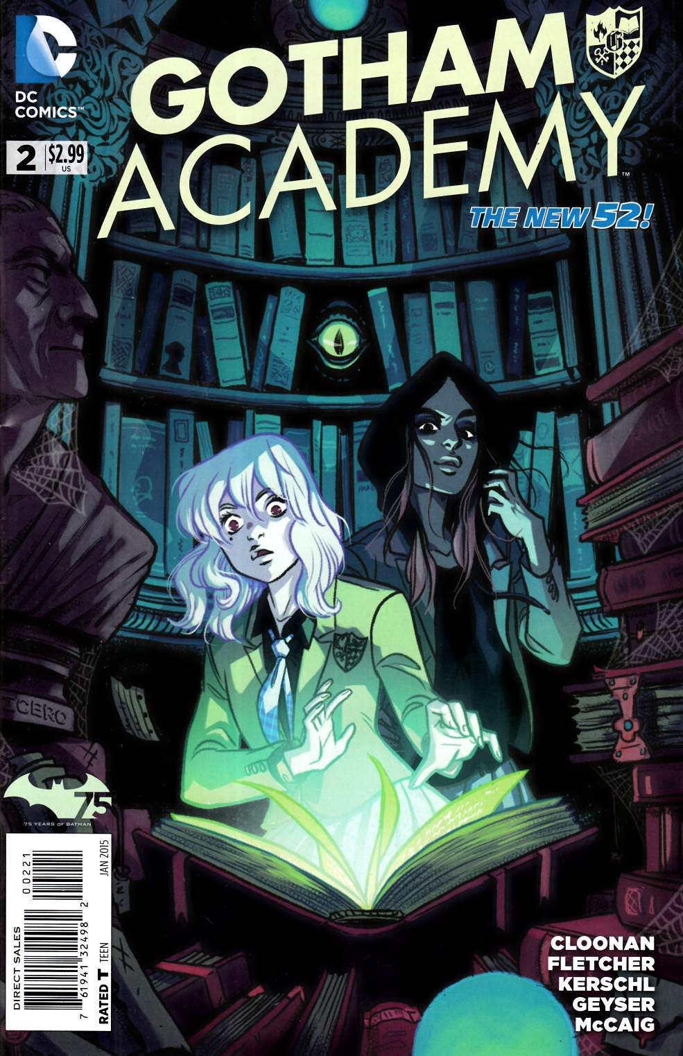 Gotham Academy #2 Cloonan Variant Cover [DC Comic]_THUMBNAIL