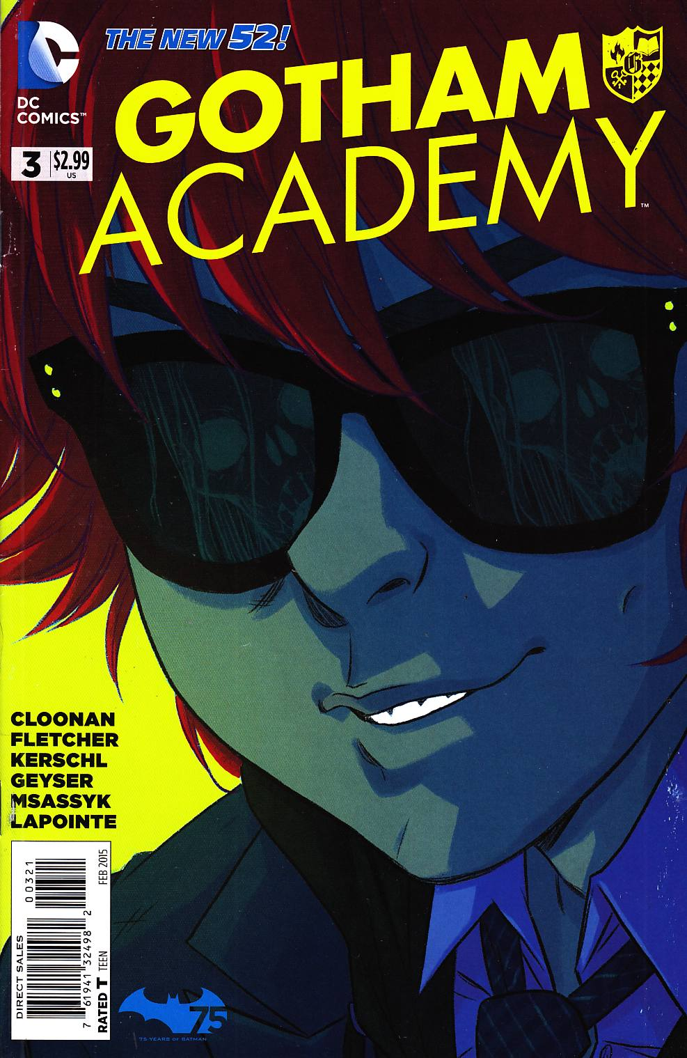 Gotham Academy #3 Cloonan Variant Cover [DC Comic] THUMBNAIL