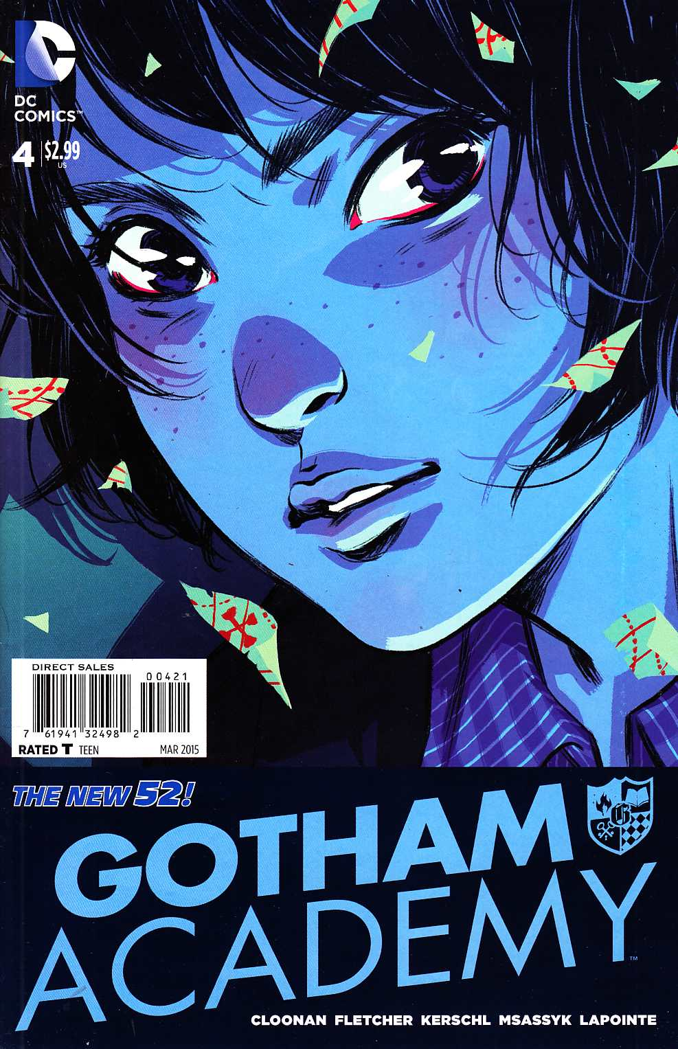 Gotham Academy #4 Cloonan Variant Cover [DC Comic] THUMBNAIL