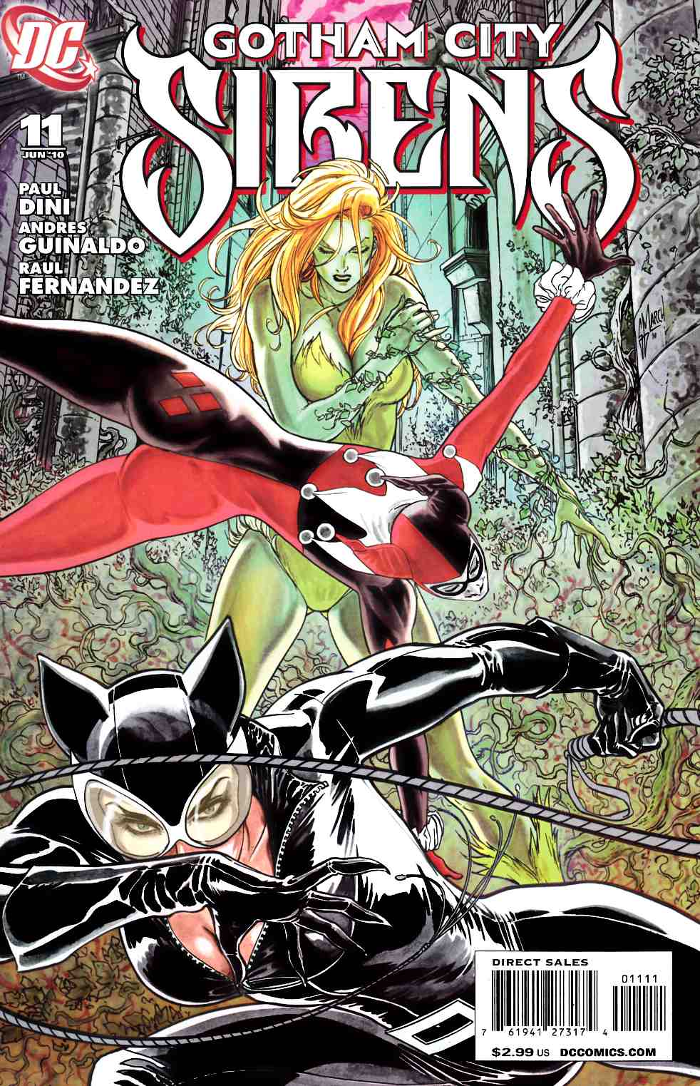 Gotham City Sirens #11 Near Mint Minus (9.2) [DC Comic]_THUMBNAIL