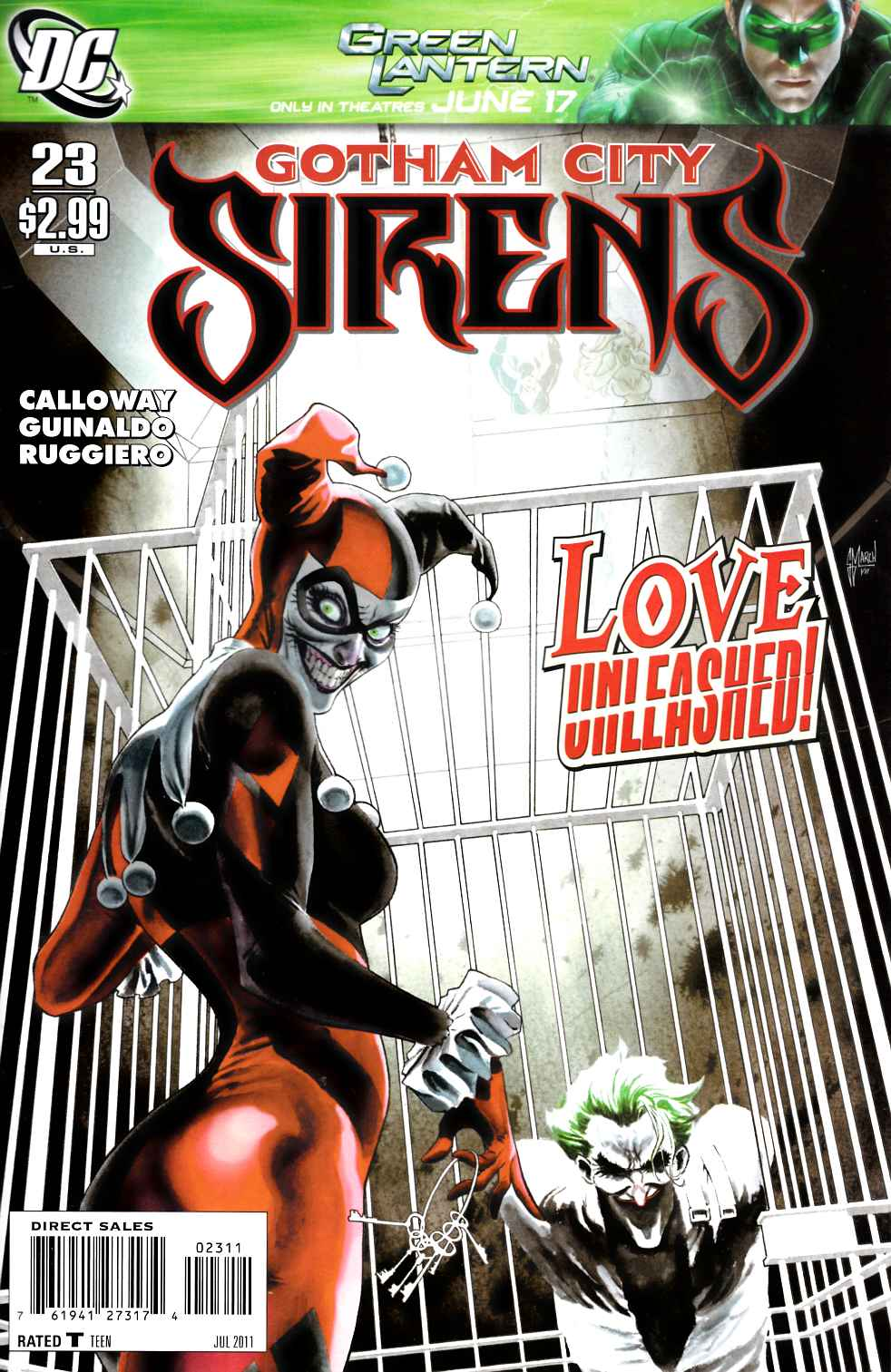 Gotham City Sirens #23 [DC Comic] LARGE