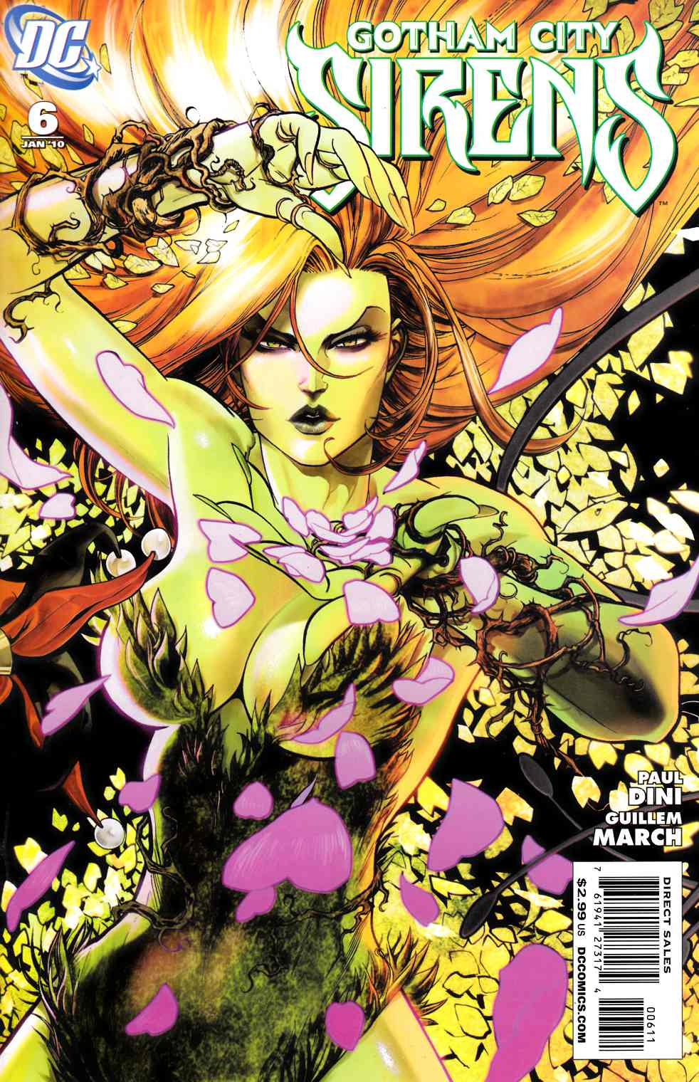 Gotham City Sirens #6 [DC Comic] LARGE