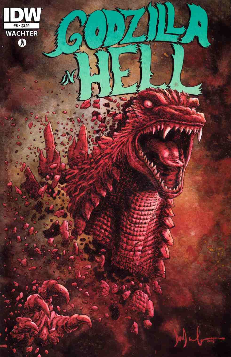 Godzilla in Hell #5 [IDW Comic] THUMBNAIL