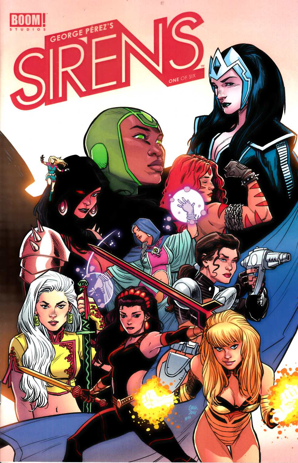George Perez Sirens #1 Cover B [Comic]