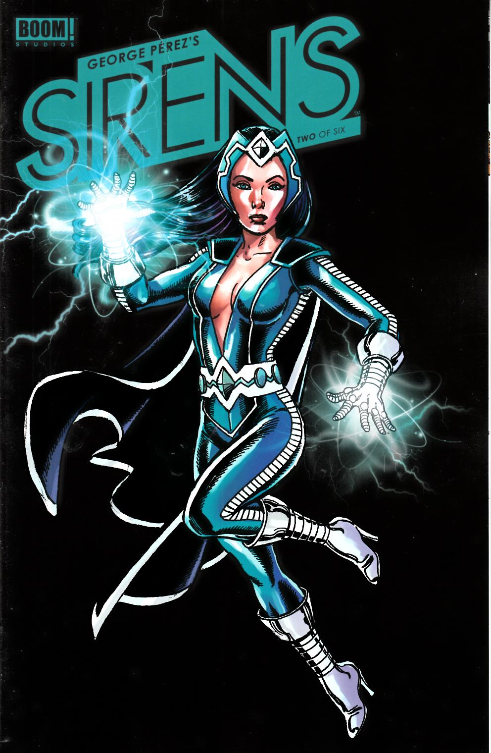 George Perez Sirens #2 Cover B- Spotlight Incentive [Boom Comic]