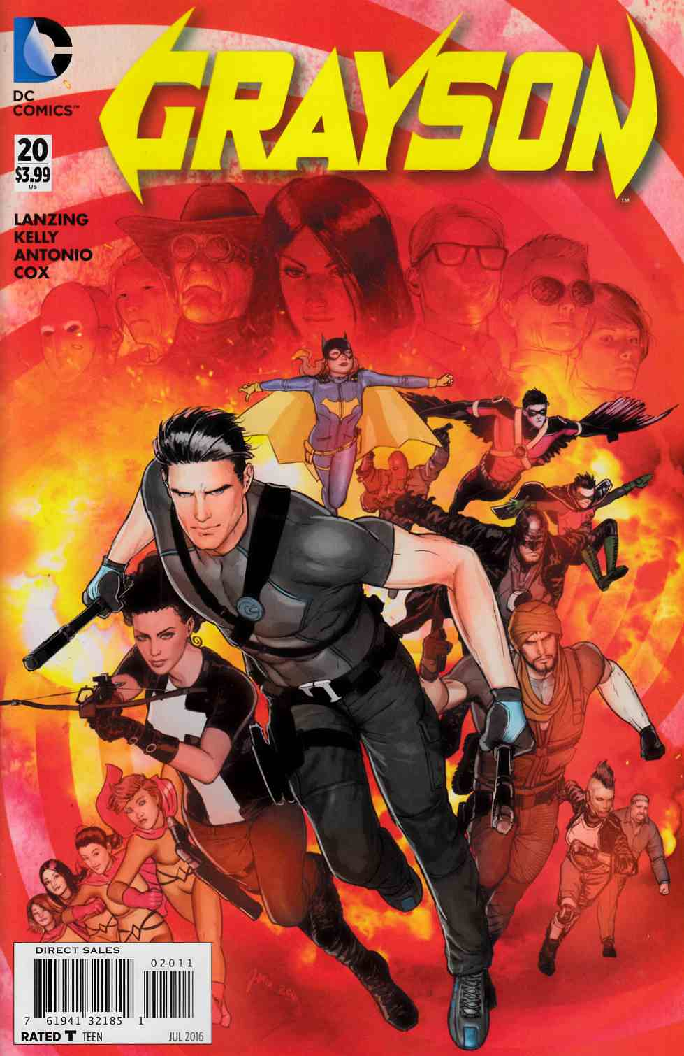 Grayson #20 [DC Comic] LARGE