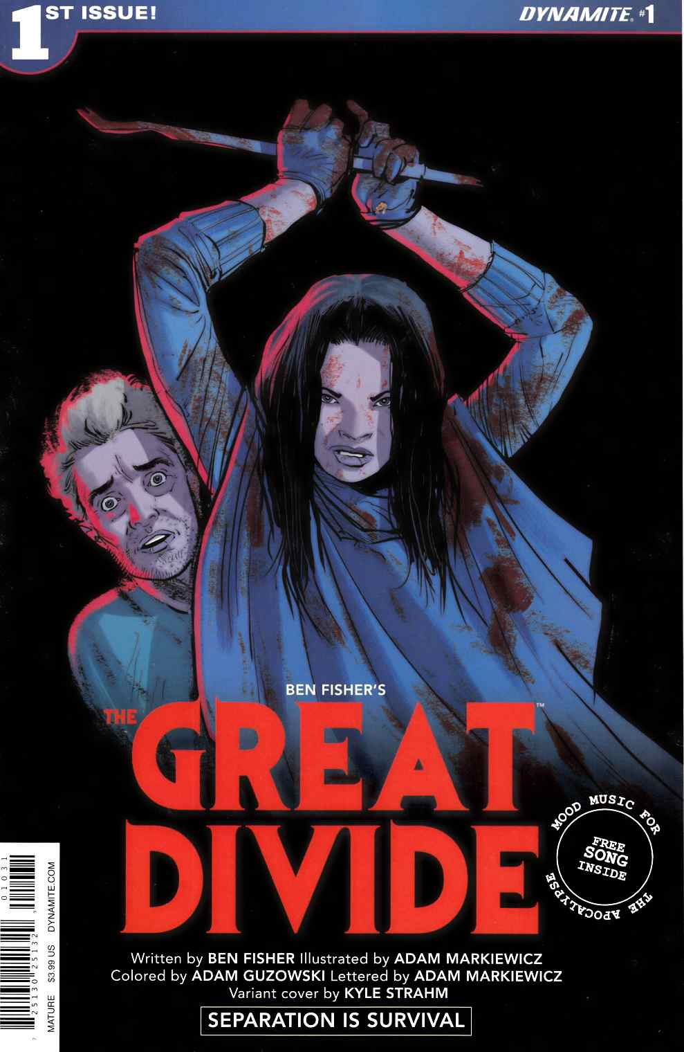 Great Divide #1 Cover C [Dynamite Comic] THUMBNAIL