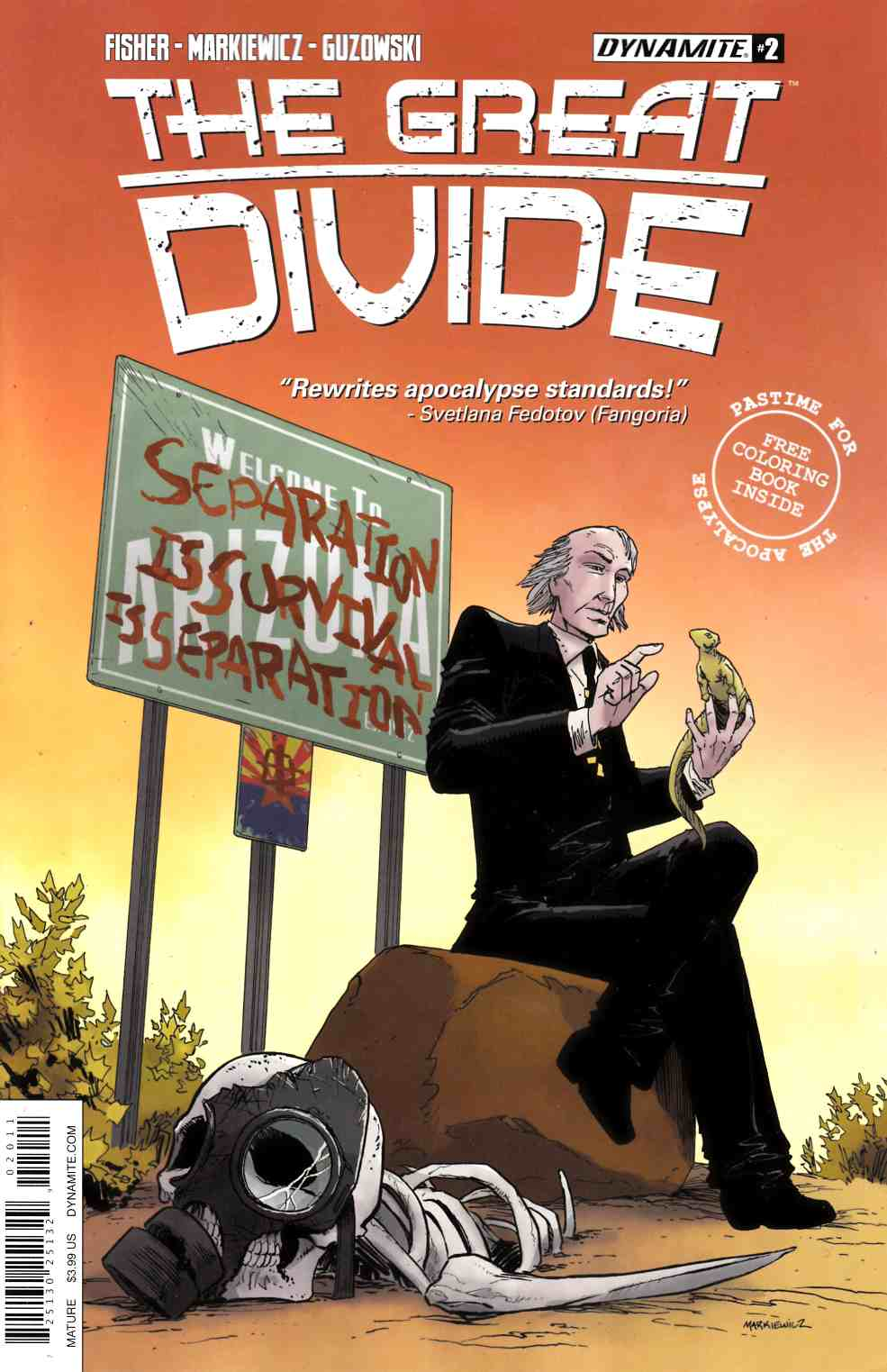 Great Divide #2 Cover A [Dynamite Comic] THUMBNAIL