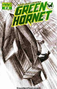 Kevin smith green hornet #2 (1:50 ross bw cover) LARGE