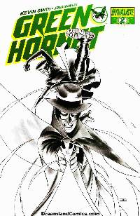 Kevin smith green hornet #2 (1:25 cassaday sketch cover) LARGE