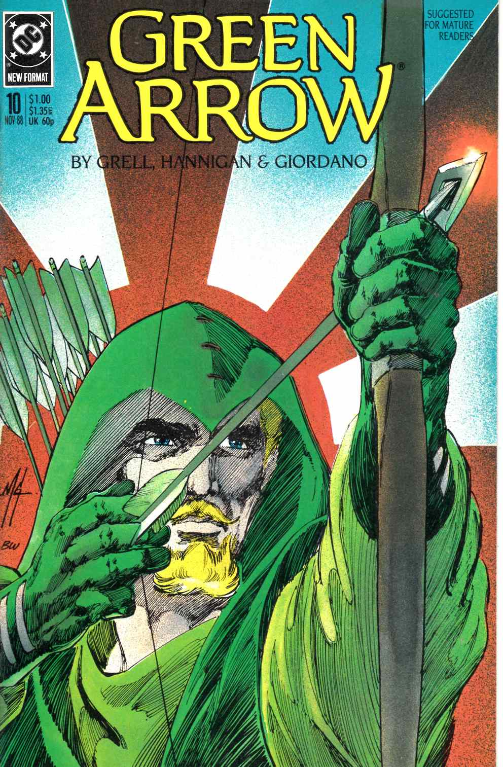 Green Arrow #10 Very Good (4.0) [DC Comic] LARGE