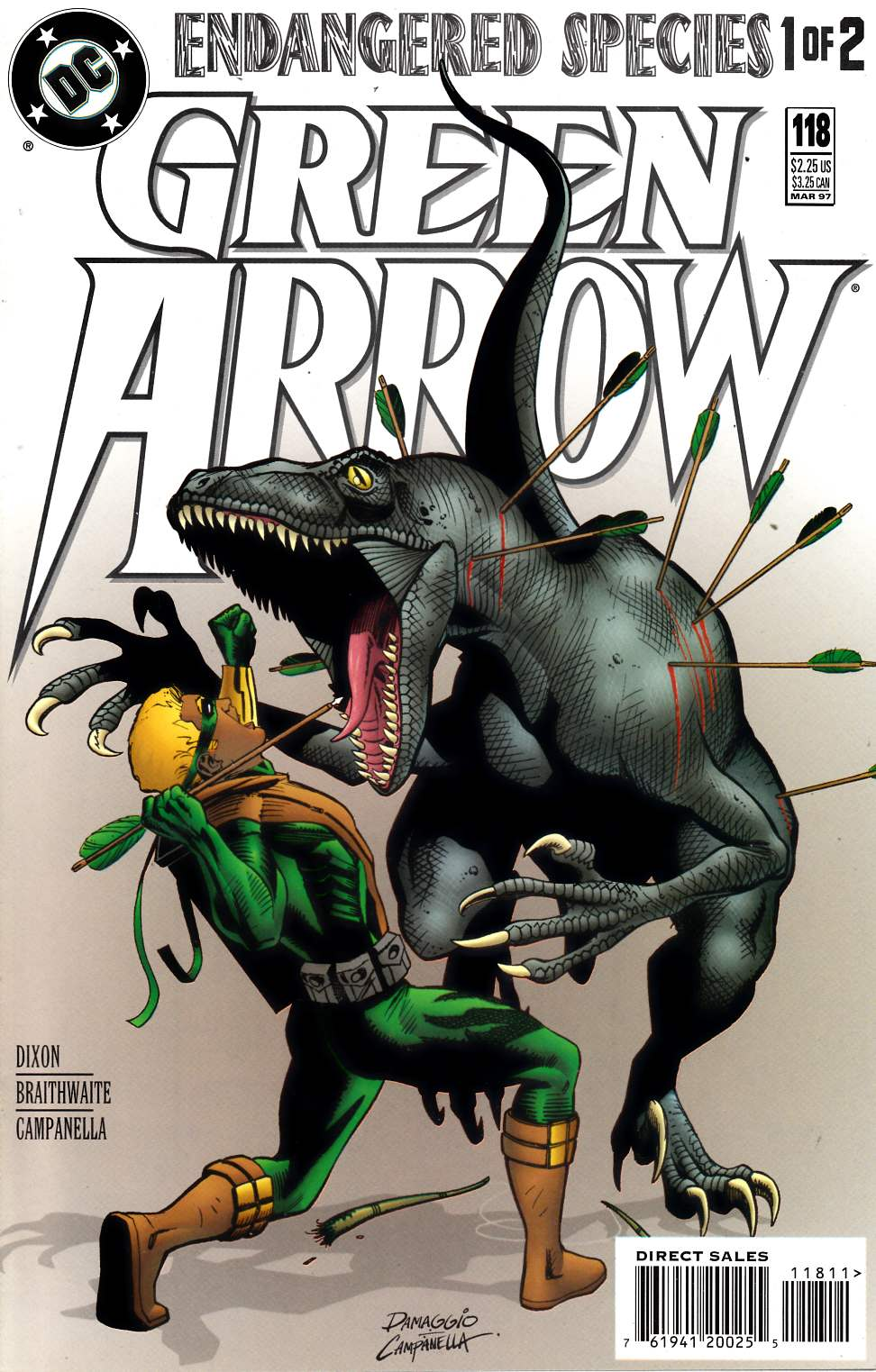 Green Arrow #118 Near Mint Minus (9.2) [DC Comic] LARGE