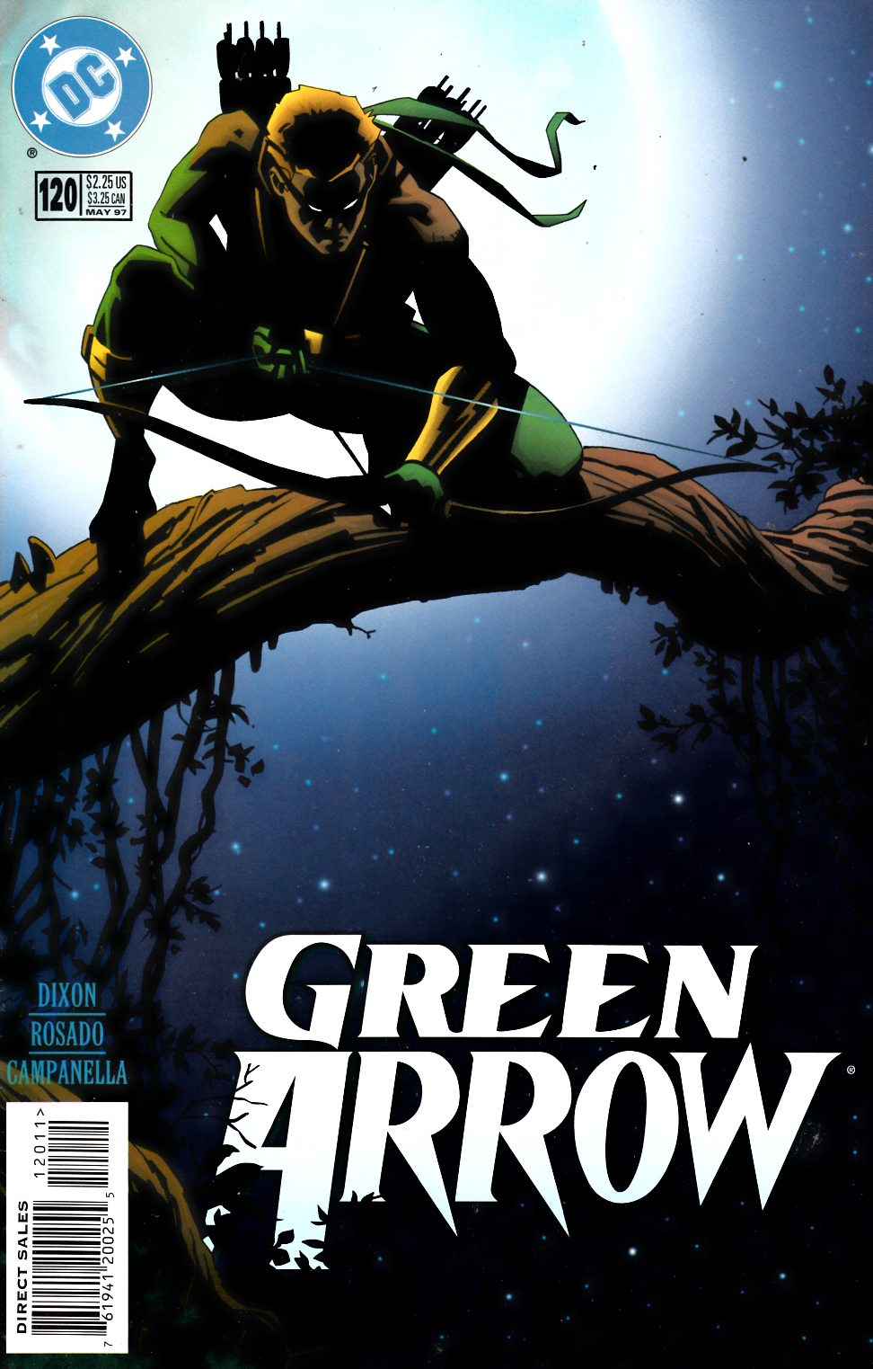Green Arrow #120 Very Fine (8.0) [DC Comic] LARGE
