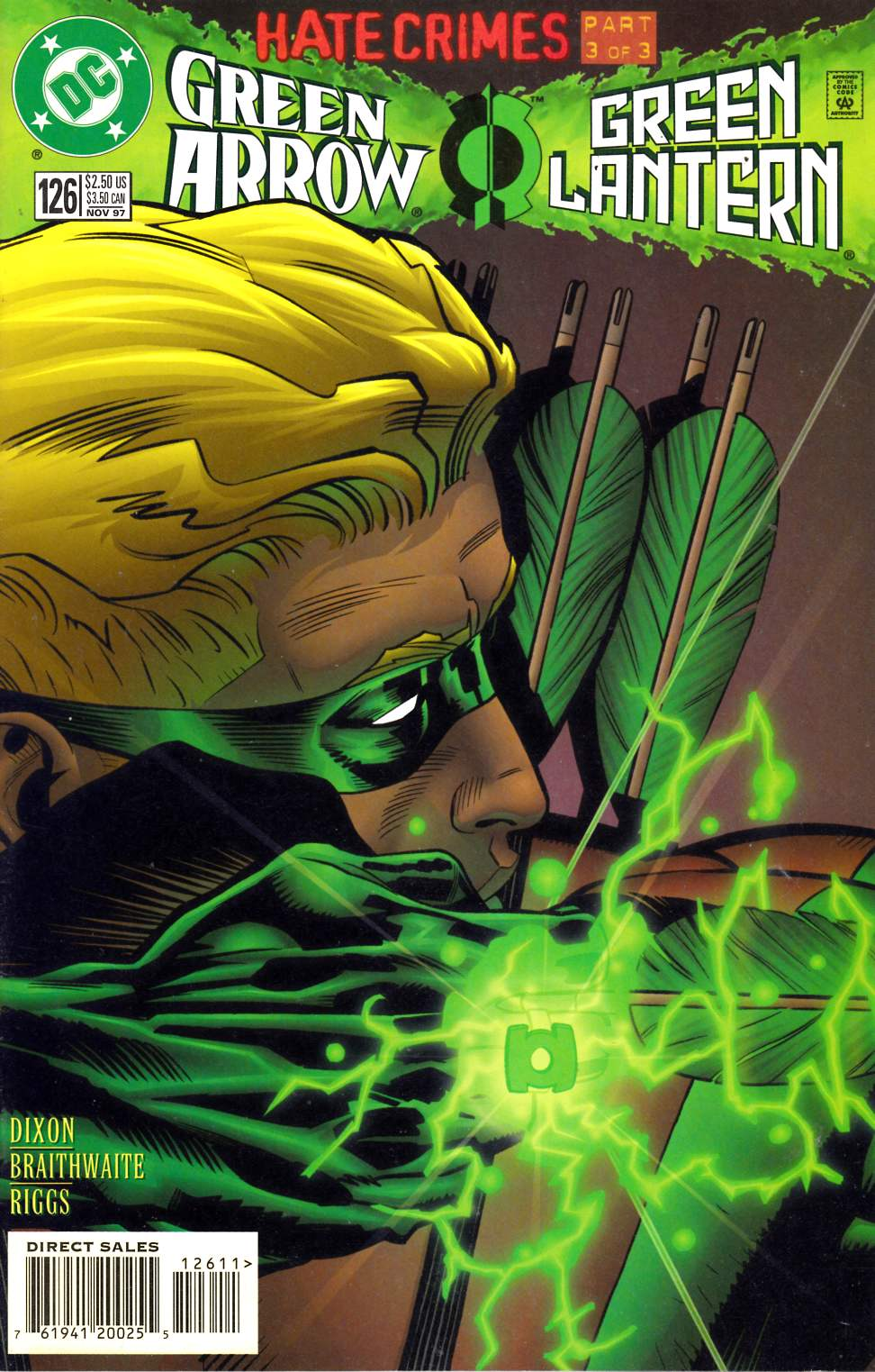 Green Arrow #126 Very Fine (8.0) [DC Comic] LARGE