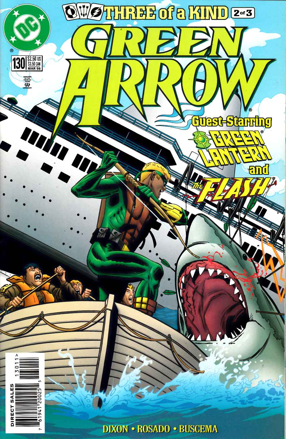 Green Arrow #130 Very Fine Plus (8.5) [DC Comic] LARGE