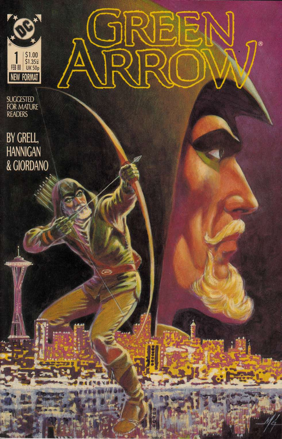 Green Arrow #1 Near Mint Minus (9.2) [DC Comic] LARGE
