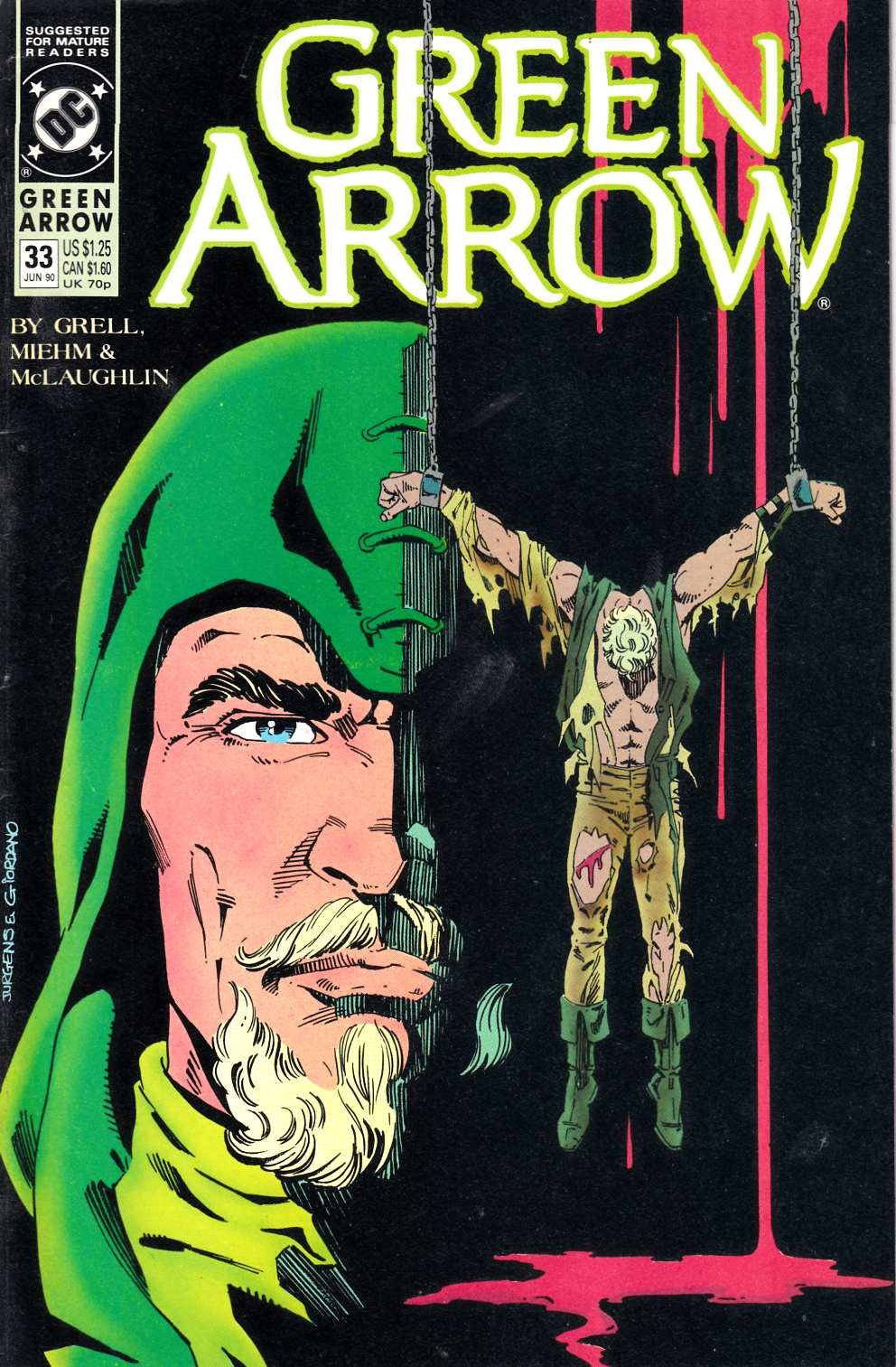 Green Arrow #33 Fine (6.0) [DC Comic] LARGE