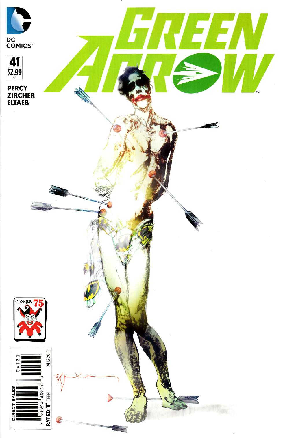 Green Arrow #41 The Joker Variant Edition [DC Comic]_THUMBNAIL