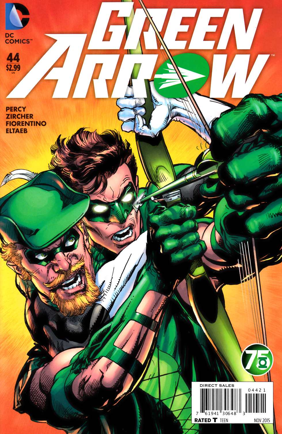 Green Arrow #44 Green Lantern 75th Variant Cover [DC Comic]_THUMBNAIL