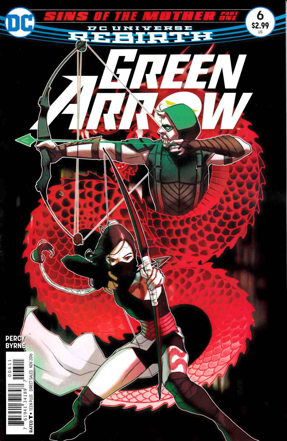 Green Arrow #6 [DC Comic] LARGE