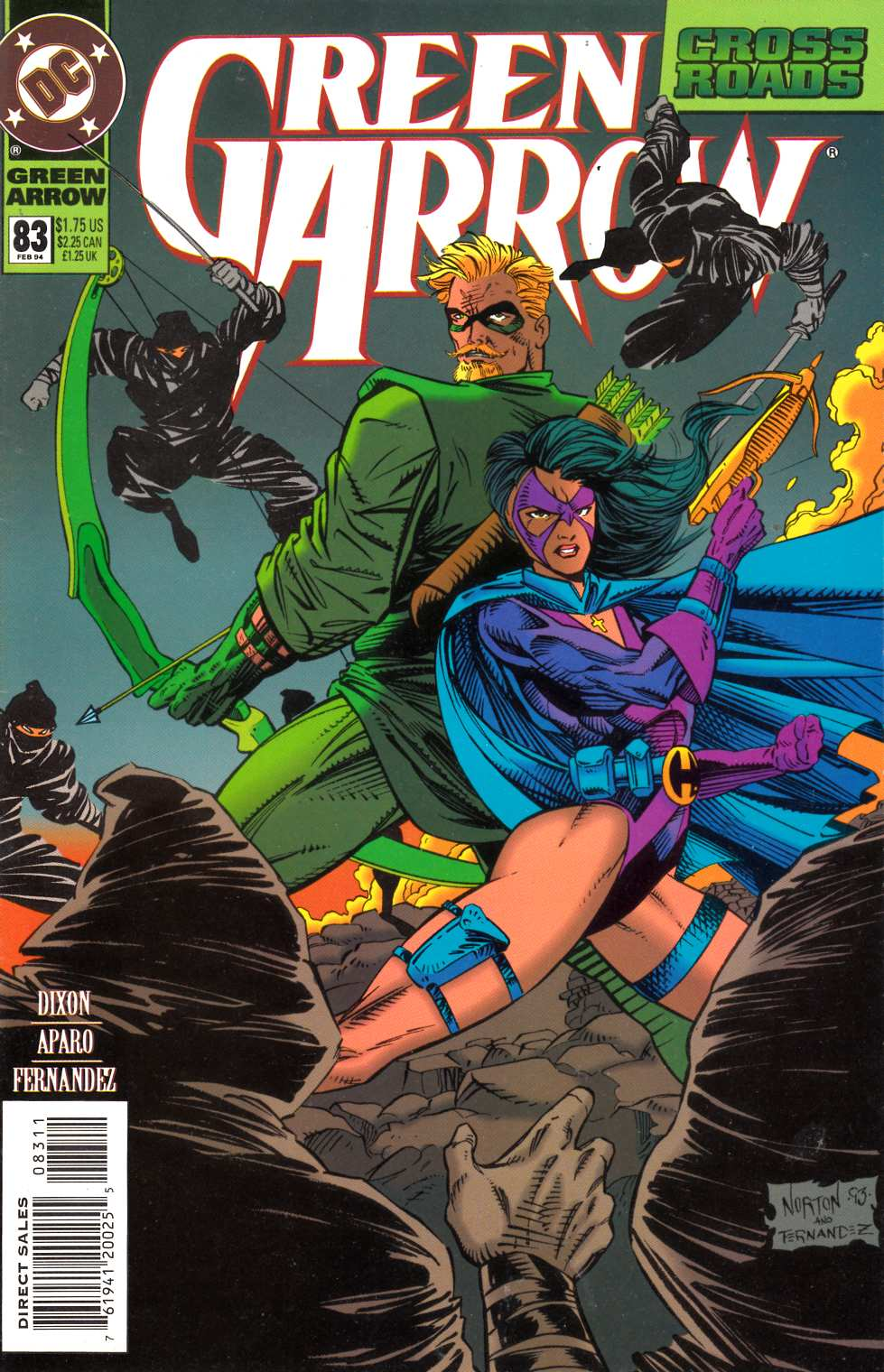 Green Arrow #83 Very Fine (8.0) [DC Comic] LARGE