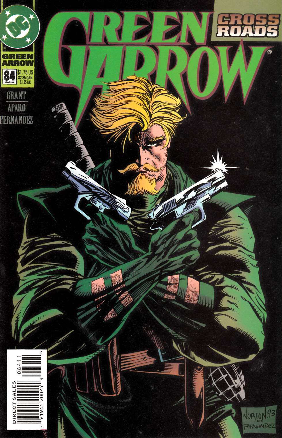 Green Arrow #84 Very Fine (8.0) [DC Comic] LARGE