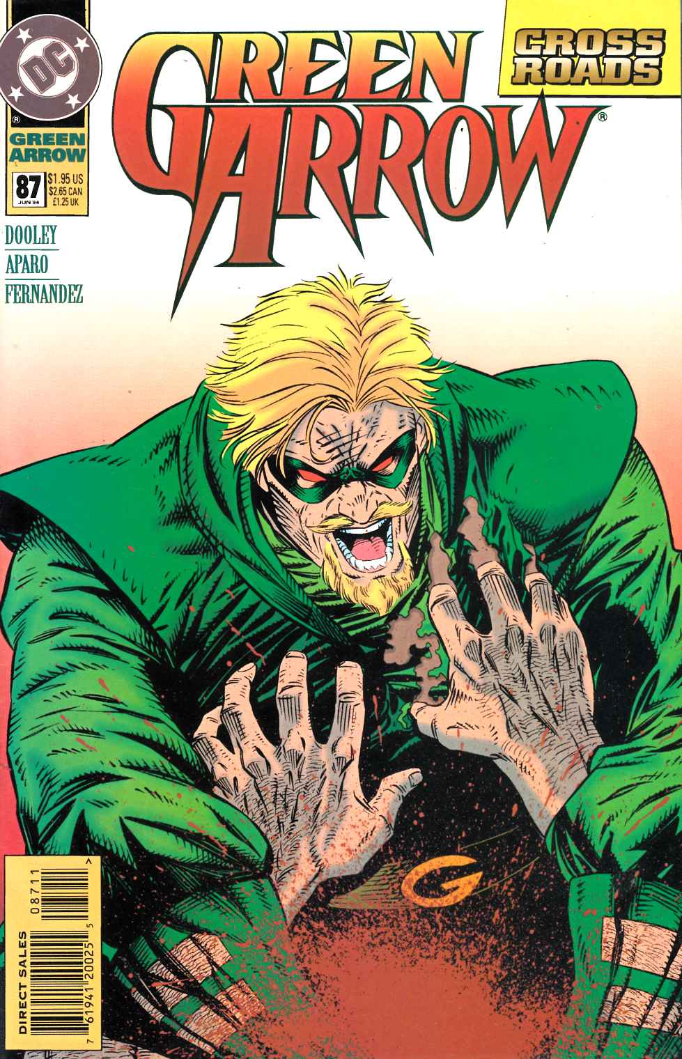 Green Arrow #87 Fine (6.0) [DC Comic] LARGE